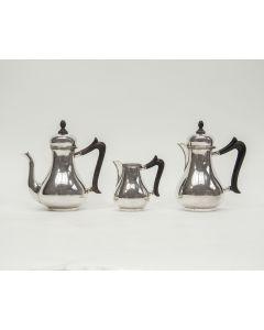 Zilveren koffie- en chocoladeservies, Turks model, 1943