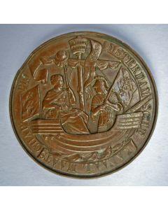 Penning ter gelegenheid van de opening van het Noordzeekanaal, 1876