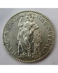 Utrecht, 1/4 gulden (muntmeesterspenning), 1758