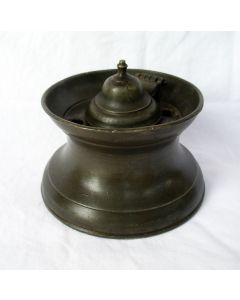 Tinnen inktpot, ca. 1800