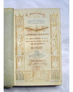 De Nederlandsche Adel of Alphabetische Naamlijst van familiën en personen wier titels of adeldom op de registers van den Hoogen Raad van Adel zijn ingeschreven (1848)