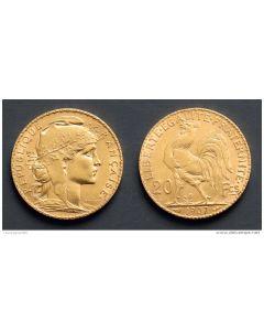 Frankrijk, 20 francs goud