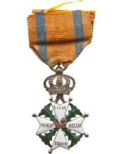 Onderscheiding Militaire Willemsorde (ex viceadmiraal Quispel)