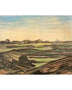 Peter van den Braken, Brabants landschap, 1923