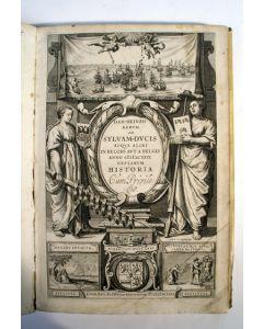 Daniël Heinsius, Rerum ad Silvam Ducis [...]. Boek over de geschiedenis van s Hertogenbosch, 1631.