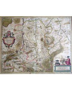 Kaart van Limburg, ca. 1640
