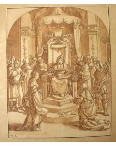 C. Ploos van Amstel, aquatint naar Lucas van Leyden, 1782