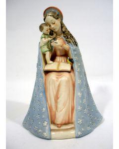 Hummelbeeld, Madonna met bloem, ca. 1950