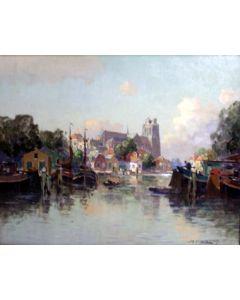 Jan Knikker Jr., Gezicht op Dordrecht