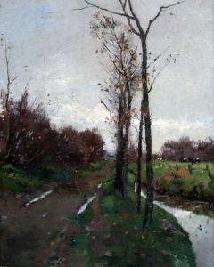 Willem Alexander Knip, Weidegezicht, 1922