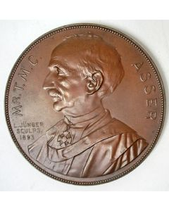 Mr. T.M.C. Asser, 1893