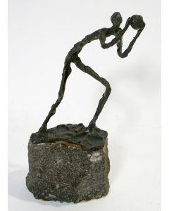 Jits Bakker, bronzen sculptuur, Handballer