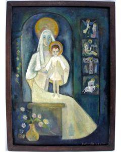 Pieter van Velzen, Madonna met kind