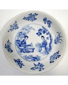 Chinees porseleinen bordje, Kangxi periode, ca. 1700