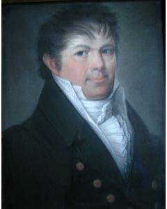 Theodoor Bohres, portret van J.B. Baron van Hugenpoth tot den Berenclaauw, ca. 1820