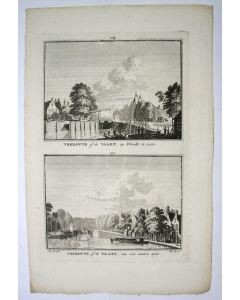Vreeswijk, gravure, 1745