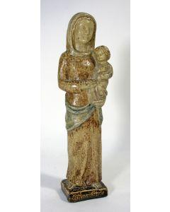 Aardewerk Madonnabeeld, Terraco Draak, Beesel, 1957