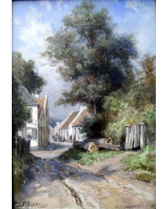 Piet Schipperus, Valkenburg, 1904