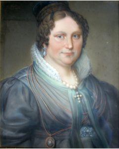 Theodoor Bohres, portretten van het Limburgse echtpaar De Rijk-De Koning, 1833