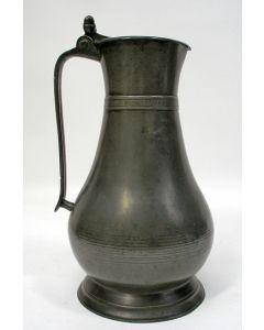 Engelse tinnen kan, 18e eeuw