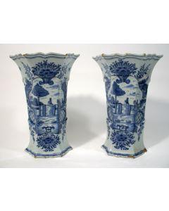 Delftse vazen, 18e eeuw