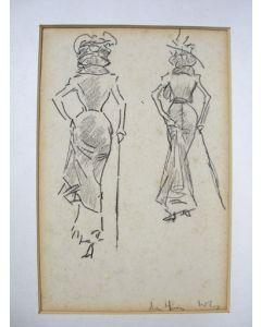 Willy Sluiter, Haagse dames, ca. 1910