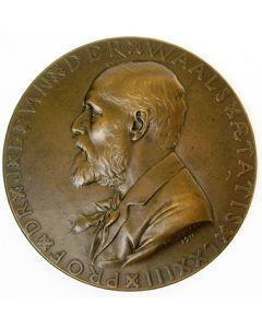 Nobelprijswinnaar Prof. Van der Waals, 1910