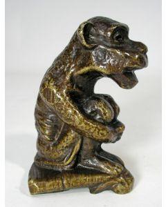 Bronzen aapje
