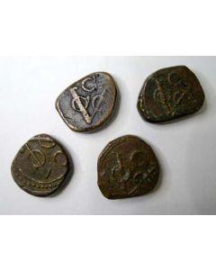 Ceylon, VOC-stuivers, 18e eeuw