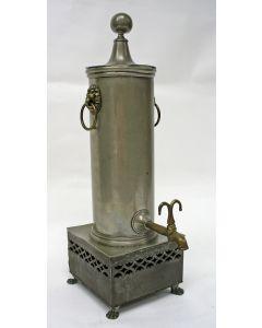 Tinnen kraantjeskan, ca. 1820