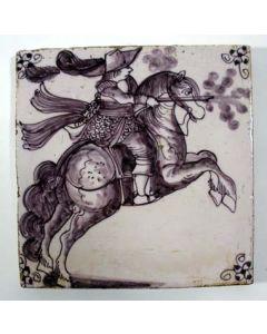 Ruitertegel, 18e eeuw