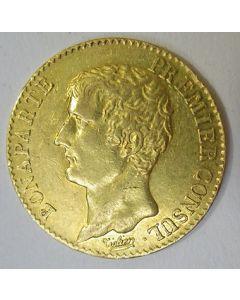 Frankrijk, 20 francs goud, An 12