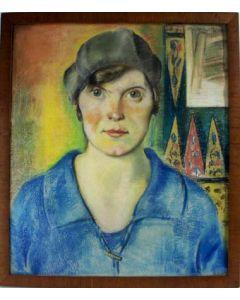 Mathieu Wiegman, damesportret, 1922