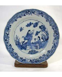 Chinees porseleinen schotel, QianLong periode