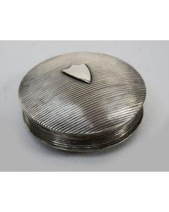 Zilveren pepermuntdoosje, 1835