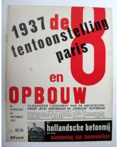 De 8 en opbouw, 1937, no.18/19