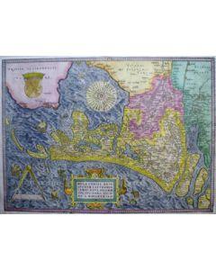 Kaart van Holland, 16e eeuw