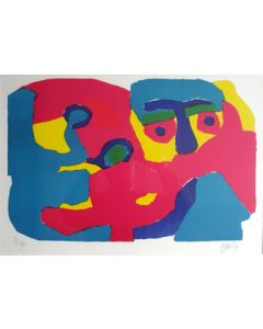 Karel Appel, litho, 1969