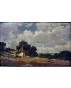 Paul Gabriel, landschap met boerderij