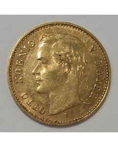 Duitsland (Beieren), 10 mark 1909