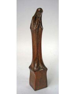 Houten madonnabeeldje, Leendert Bolle, ca. 1920