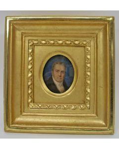 Portretminiatuur op ivoor, 1833