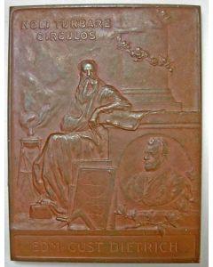 [Vrijmetselarij] Edmund Gustav Dietrich, Loge Archimedes, Altenburg 1901.