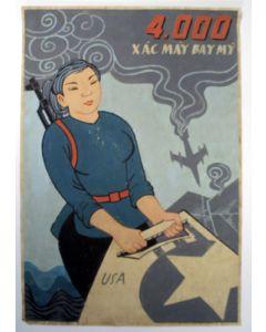 Ontwerp voor een affiche, Vietnam, ca. 1970