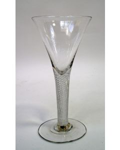 Spiraalglas, 18e eeuw