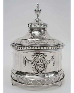 Zilveren tabakspot, Leeuwarden 1787