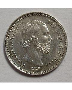Zilveren stuivers, Willem III