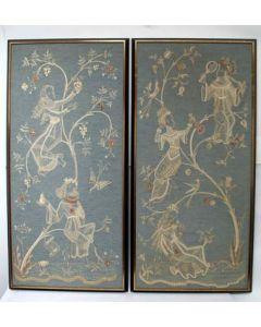 Hildegard Brom-Fischer, twee naaldwerken