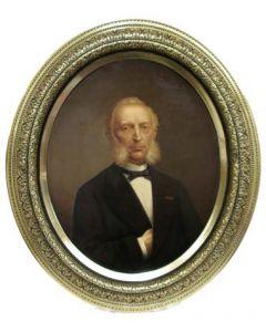 Oppers/Harrison, portret van Mr. A.W.K. Ariëns, 1881