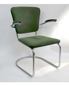 Stalen buisframe stoel, ca. 1930